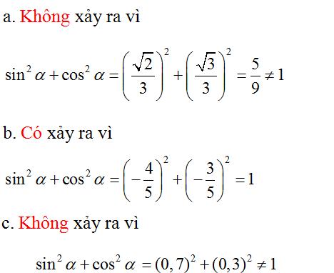 Giải Toán lớp 10 Bài 2: Giá trị lượng giác của một cung