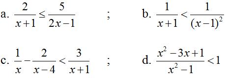 Giải Toán lớp 10 Bài 3: Dấu của nhị thức bậc nhất