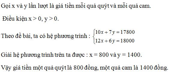 Giải Toán lớp 10 Bài 3: Phương trình và hệ phương trình bậc nhất nhiều ẩn