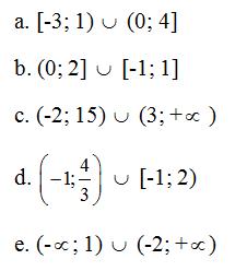 Giải Toán lớp 10 Bài 4: Các tập hợp số