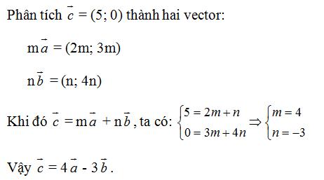Giải Toán lớp 10 Bài 4: Hệ trục tọa độ