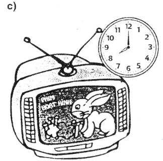 Giải Toán lớp 3 bài Thực hành xem đồng hồ (tiếp theo)