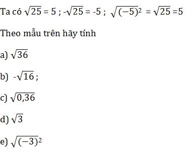 giai toan lop 7 bai 11 so vo ti khai niem ve can bac hai 2 - Giải Toán lớp 7 Bài 11: Số vô tỉ. Khái niệm về căn bậc hai