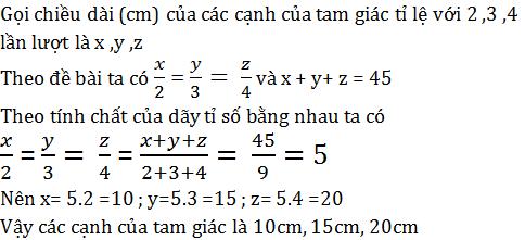 giai toan lop 7 bai 2 mot so bai toan ve dai luong ti le thuan 4 - Giải Toán lớp 7 Bài 2: Một số bài toán về đại lượng tỉ lệ thuận