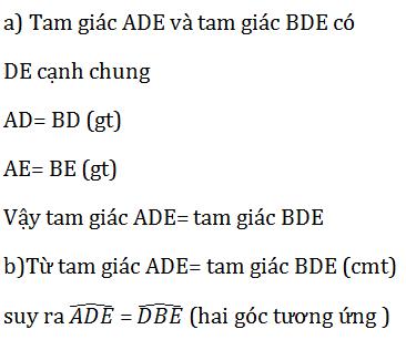 giai toan lop 7 bai 3 truong hop thu nhat cua tam giac canh canh canh c c c 11 - Giải Toán lớp 7 Bài 3: Trường hợp thứ nhất của tam giác cạnh - cạnh - cạnh (c.c.c)