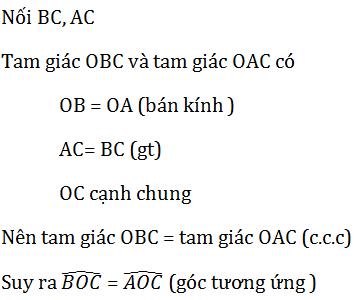 giai toan lop 7 bai 3 truong hop thu nhat cua tam giac canh canh canh c c c 13 - Giải Toán lớp 7 Bài 3: Trường hợp thứ nhất của tam giác cạnh - cạnh - cạnh (c.c.c)