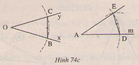 giai toan lop 7 bai 3 truong hop thu nhat cua tam giac canh canh canh c c c 16 - Giải Toán lớp 7 Bài 3: Trường hợp thứ nhất của tam giác cạnh - cạnh - cạnh (c.c.c)
