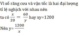 giai toan lop 7 bai 4 mot so bai toan ve dai luong ti le nghich 7 - Giải Toán lớp 7 Bài 4: Một số bài toán về đại lượng tỉ lệ nghịch