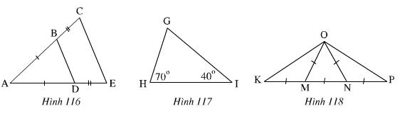 Giải Toán lớp 7 Bài 6: Tam giác cân