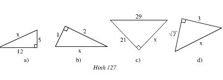 Giải Toán lớp 7 bài 7: Định lí Pi - ta - go