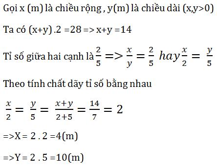 Giải Toán lớp 7 Bài 8: Tính chất của dãy tỉ số bằng nhau