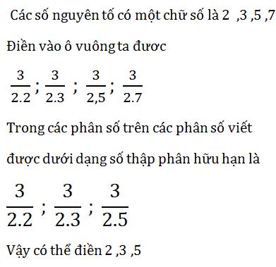 Giải Toán lớp 7 Bài 9: Số thập phân hữu hạn. Số thập phân vô hạn tuần hoàn