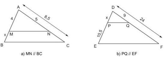 Giải Toán lớp 8 Bài 1: Định lí Ta-lét trong tam giác