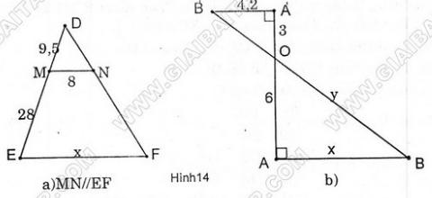Giải Toán lớp 8 Bài 2: Định lí đảo và hệ quả của định lí Ta-lét