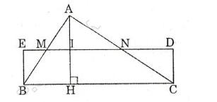 Giải Toán lớp 8 Bài 3: Diện tích tam giác
