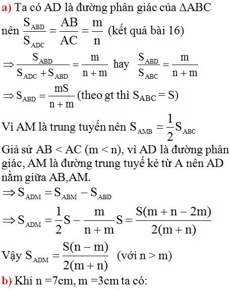 giai toan lop 8 bai 3 tinh chat duong phan giac cua tam giac 14 - Giải Toán lớp 8 Bài 3: Tính chất đường phân giác của tam giác