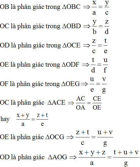 giai toan lop 8 bai 3 tinh chat duong phan giac cua tam giac 17 - Giải Toán lớp 8 Bài 3: Tính chất đường phân giác của tam giác