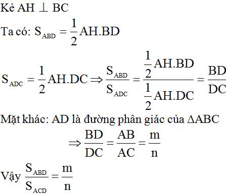 giai toan lop 8 bai 3 tinh chat duong phan giac cua tam giac 3 - Giải Toán lớp 8 Bài 3: Tính chất đường phân giác của tam giác