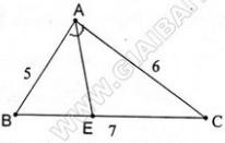 giai toan lop 8 bai 3 tinh chat duong phan giac cua tam giac 6 - Giải Toán lớp 8 Bài 3: Tính chất đường phân giác của tam giác