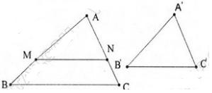 giai toan lop 8 bai 4 khai niem hai tam giac dong dang 2 - Giải Toán lớp 8 Bài 4: Khái niệm hai tam giác đồng dạng