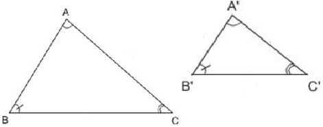 giai toan lop 8 bai 4 khai niem hai tam giac dong dang 6 - Giải Toán lớp 8 Bài 4: Khái niệm hai tam giác đồng dạng