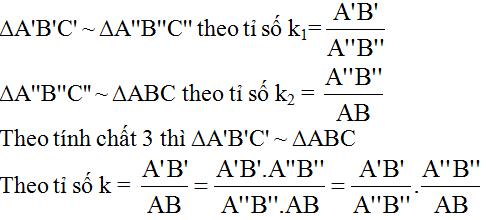 giai toan lop 8 bai 4 khai niem hai tam giac dong dang - Giải Toán lớp 8 Bài 4: Khái niệm hai tam giác đồng dạng