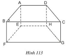 Giải Toán lớp 8 Bài 6: Thể tích của hình lăng trụ đứng
