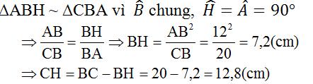 giai toan lop 8 bai 8 cac truong hop dong dang cua tam giac vuong 13 - Giải Toán lớp 8 Bài 8: Các trường hợp đồng dạng của tam giác vuông
