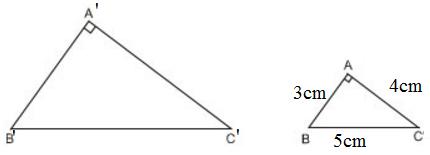 giai toan lop 8 bai 8 cac truong hop dong dang cua tam giac vuong 2 - Giải Toán lớp 8 Bài 8: Các trường hợp đồng dạng của tam giác vuông