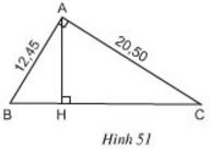 giai toan lop 8 bai 8 cac truong hop dong dang cua tam giac vuong 6 - Giải Toán lớp 8 Bài 8: Các trường hợp đồng dạng của tam giác vuông
