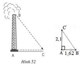 giai toan lop 8 bai 8 cac truong hop dong dang cua tam giac vuong 8 - Giải Toán lớp 8 Bài 8: Các trường hợp đồng dạng của tam giác vuông