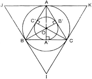 Giải Toán lớp 9 Bài 8: Đường tròn ngoại tiếp. Đường tròn nội tiếp