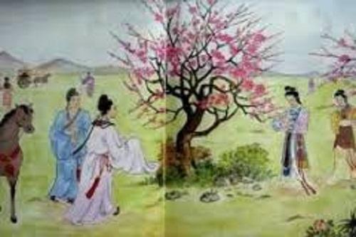 Cảm nhận về 4 câu thơ đầu Cảnh ngày xuân
